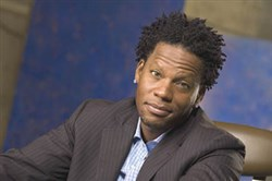 D.L. Hughley performs at the Pittsburgh Improv at The Waterfront at Homestead.