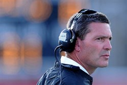 Duquesne coach Jerry Schmitt leads a decorated Dukes roster into this weekend's FCS playoff matchup.