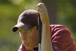 Robert Rohanna of Waynesburg is tied for the lead at the West Penn Open.