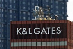 The K&L Gates building Downtown.