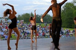 Members of Pittsburgh Ballet Theatre perform a free outdoor show at Hartwood Acres. It's one of the cultural groups contributing to Allegheny County's robust arts scene.