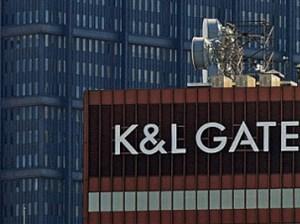 The K&L Gates building Downtown.