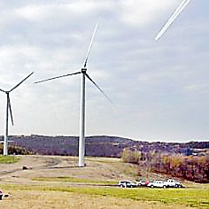 Wind Turbines Diplomats are working on a deal that will cut tariffs on environmental goods, such as wind turbines for producing energy.
