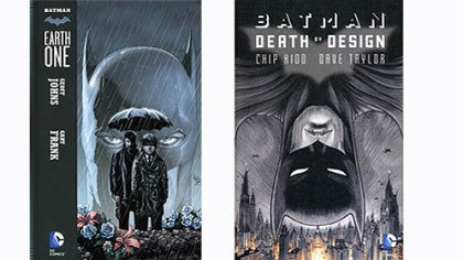 2 graphic novels carry on story of the Caped Crusader