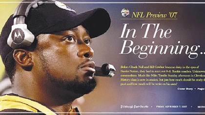2007 NFL Preview Cover