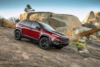 2014 Jeep Cherokee Trailhawk The 2014 Jeep Cherokee Trailhawk, which made its debut at the New York International Auto Show last week, has had a remake so radical that observers might not realize it's a Jeep. The Cherokee promises to inject new life into Chrysler's Toledo Assembly Complex.