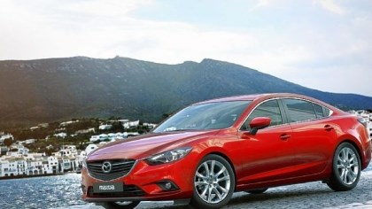 "2014 Mazda6 exterior 2014 Mazda6 exterior is ""curvily, thoughtfully shaped."""