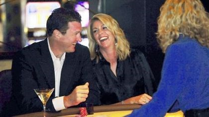 6. Rivers Casino Openng to benefit the Mario Lemieux Foundation Mario and Nathalie Lemieux