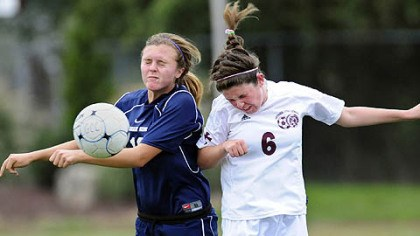 A 2011 soccer game betweenn Greensburg Central Catholic and Shadyside Academy Studies of high school sports injuries report high numbers of concussions, although symptoms are not often recognized.