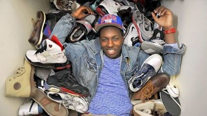 A good pair of sneakers A good pair of sneakers has always been a symbol of success for Tray Woodall. He estimates he owns about 80 pairs, many of which fill the closet in his apartment.
