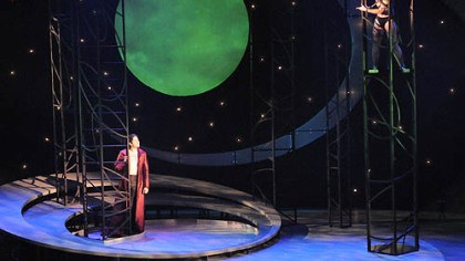"'A Midsummer Night's Dream' Daniel Weschler, left, as Oberon, and Ben Ferguson as Puck in ""A Midsummer Night's Dream"" at Carnegie Mellon University."