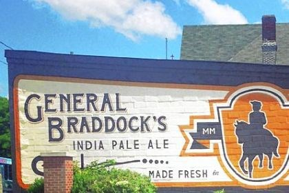 A new brewery A new brewery is opening in Braddock: The brewery sign on the building on Braddock Avenue was painted by local sign painter Tony Purcell.