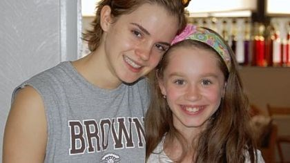 Actress Emma Watson and Lauren Javornick Actress Emma Watson and Lauren Javornick met this summer at The Academy of Dance by Lori at its former Mt. Lebanon location. Lauren is the daughter of the company's artistic director, Lori Javornick.