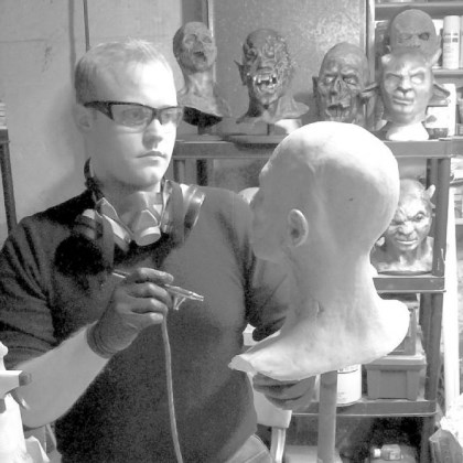 "Adam King Adam King, a special effects artist, will teach at the ""Creature Design and Mask Making"" summer art camp at the Pittsburgh Center for the Arts."