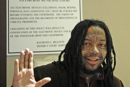 aj richardson arraigned Democratic candidate for mayor of Pittsburgh A.J. Richardson greets reporters following his arraignment on DUI charges today.