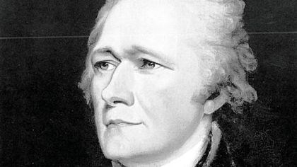 Alexander Hamilton Alexander Hamilton, shown in a circa 1804 portrait by John Trumbull, is criticized for his economic policies in a new book.