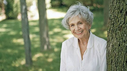 "Alice Munro Alice Munro, author of ""Dear Life: Stories."""