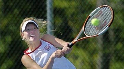 Alison Riske Allison Riske only competed one year for Peters Township High School, but she won WPIAL and PIAA singles titles that season.