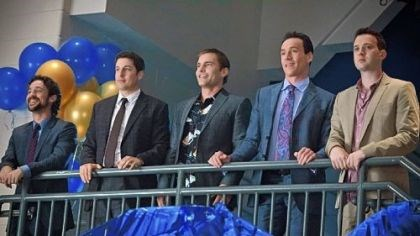 "'American Reunion' The ""American Pie"" boys -- Thomas Ian Nicholas, left, Jason Biggs, Seann William Scott, Chris Klein and Eddie Kaye Thomas -- return for ""American Reunion."""