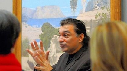 "Amir Parsa, director of the Museum of Modern Art's ""Meet Me at MoMA"" program Amir Parsa, director of the Museum of Modern Art's ""Meet Me at MoMA"" program for visitors with Alzheimer's or other dementias, says the museum tours are ""a catalyst for conversation that may not occurr in other circumstances."""