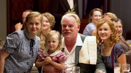 "Amy Adams, left, and Philip Seymour Hoffman Amy Adams, left, and Philip Seymour Hoffman star in ""The Master."""