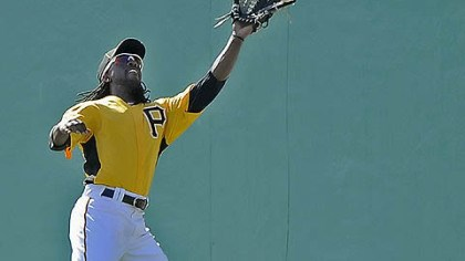 Andrew McCutchen Pirates outfielder Andrew McCutchen is dealing with an injured left wrist.