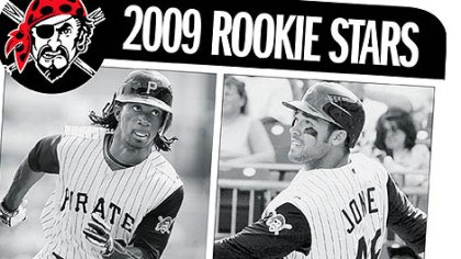 Andrew McCutchen and Garrett Jones 2009 Rookie Stars: Andrew McCutchen and Garrett Jones