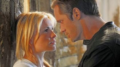 "Anna Paquin and Alexander Skarsgard on ""True Blood"" HBO's ""True Blood,"" whose cast includes Anna Paquin, left, and Alexander Skarsgard returns for a third season Sunday night."