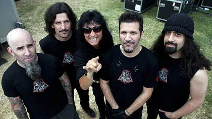 Anthrax Anthrax -- Scott Ian, left, Frank Bello, Joey Belladonna, Charlie Benante and Rob Caggiano.
