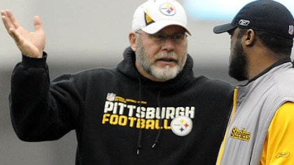 Arians retiring The Steelers announced that offensive coordinator Bruce Arians, seen here with Coach Mike Tomlin, is retiring.