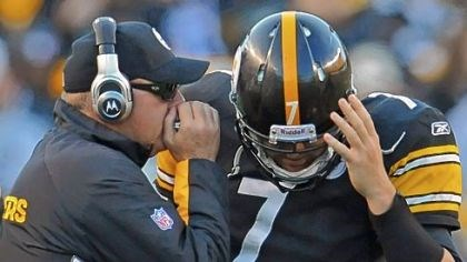 Arians_Roethlisberger Bruce Arians and Ben Roethlisberger were close on and off the field.