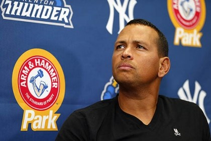arod file In this Aug. 3 photo New York Yankees' Alex Rodriguez speaks to reporters during a news conference.