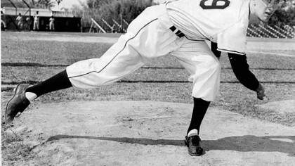 As a pitcher Nellie King as a pitcher with the Pirates, circa 1954.