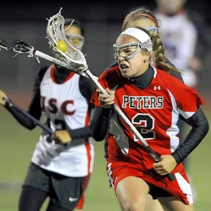 Athletes-2 Peters Township High School girls lacrosse: Caitlin Carey.