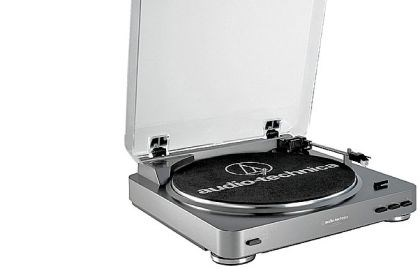 Audio-Technica AT-LP60-USB turntable The Audio-Technica AT-LP60-USB turntable is worth the investment.