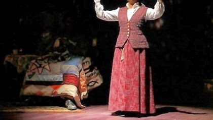 "Aunt Ester Linda Kennedy portrayed Aunt Ester in St. Louis Black Rep's ""Gem of the Ocean."""