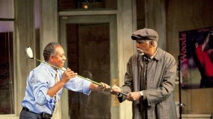 "Aunt Ester In St. Paul's Penumbra Theatre's ""Radio Golf,"" 