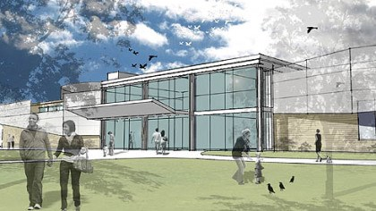 Aviary expansion An artist's conception of the expanded National Aviary.