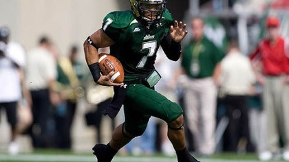 B.J. Daniels South Florida quarterback B.J. Daniels has rushed for 365 yards and four touchdowns this season.