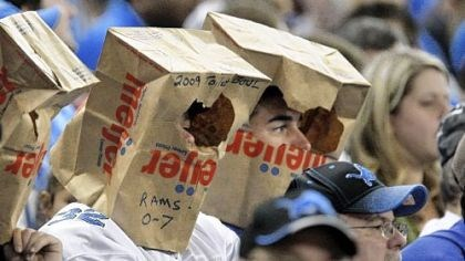 Bad Bowl: Bags for everyone? Will there be any grocery bags left in the Detroit area after the Browns and Lions get done playing at Ford Field?
