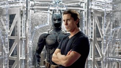 "Bale as Batman Oscar-winner Christian Bale (for ""The Fighter"") dons cape and cowl once more as Batman in ""The Dark Knight Rises."""