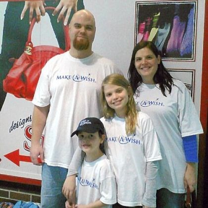 Balkovec Joshua Balkovec and his family.