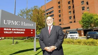 Barry Grossman Erie County Exec. Barry Grossman at UPMC Hamot Medical Center in Erie, Pa.