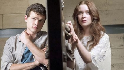 "'Beautiful Creatures' The love between Alden Ehrenreich, left, and Alice Englert faces many obstacles in ""Beautiful Creatures."""