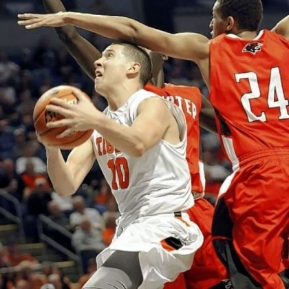 Beaver Falls Tigers Drew Cook, driving to the hoop against Imhotep last March in PIAA title game, plays a vital role for Beaver Falls.