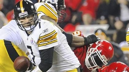 Ben Roethlisberger Ben Roethlisberger -- 21 for 31 for 193 yards and the one TD pass