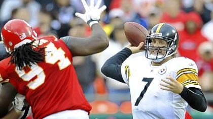 Ben Roethlisberger Steelers quarterback Ben Roethlisberger is expected to play the Raiders Sunday.