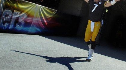 Ben Roethlisberger How will Steelers quarterback Ben Roethlisberger be greeted at Heinz Field Sunday?