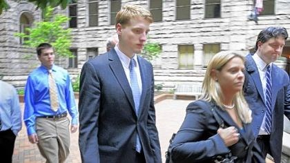 Benjamin Cope file photo Benjamin Cope, 21, center - pictured leaving the courthouse after being found guily of involuntary manslaughter in Dec. 2011 - was 20 when he drove his black Toyota 4Runner up Beadling Road, when, prosecutors said, he failed to stop at a stop sign, hitting Lisa Clay Styles.