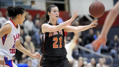 "Bethel Park Basketball In her third season as a starter, Megan Marecic is Bethel Park's ""go-to"" player."